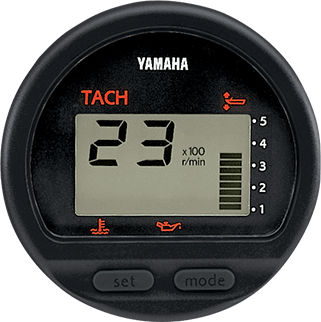Boat Rigging, Digital and Analog Gauges | Yamaha Outboards