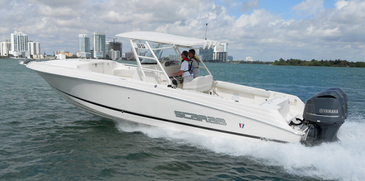 Wellcraft® 35 Scarab Offshore Sport