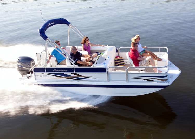 Hurricane® FunDeck 196F