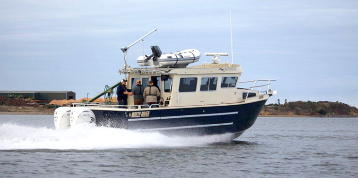North River Offshore Voyager 3500